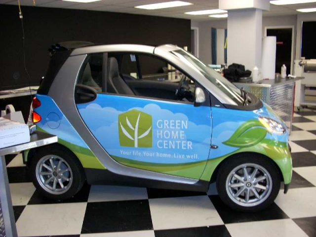 Green Home Centre Vehicle Wrap
