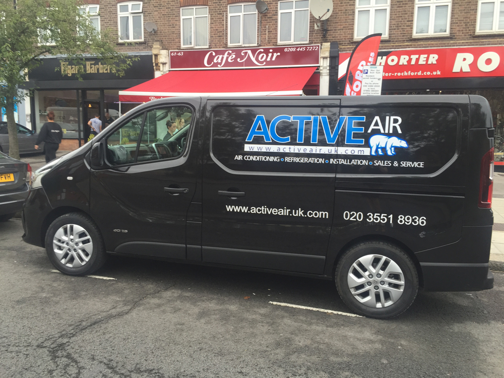 Active Air Vehicle Graphics