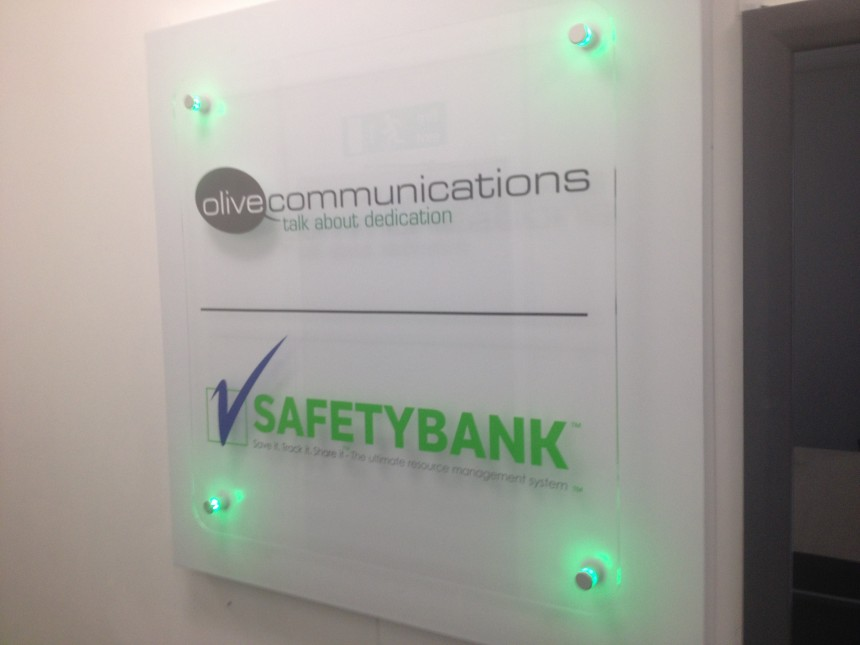 Acrylic LED Sign London